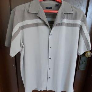 Alfani Shirts - Alfani Men's XL gray 100% silk